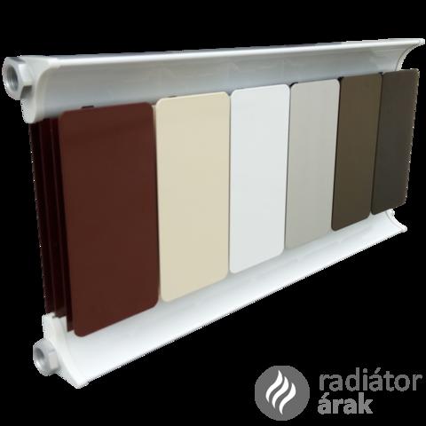 Romantik Classic fehér szinterezett aluminium radiátor 500mm kötéstáv1 tagos