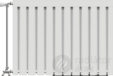 Viking aluminium radiátor 500 mm kötéstáv 15 tag