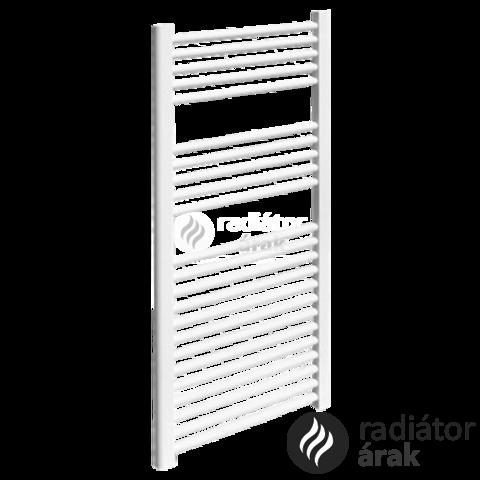 Sanica 600X700 egyenes törölközőszárító radiátor fehér