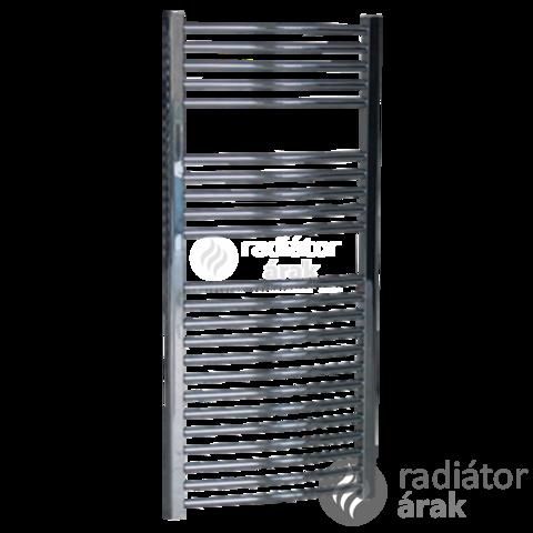 Sanica 400X1200 mm egyenes törölközőszárító radiátor króm