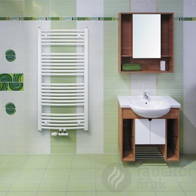 Koralux Rondo Classic M íves 600×700 törölközőszárító radiátor