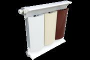 Romantik Plus fehér szinterezett aluminium radiátor 1800mm kötéstáv 1 tagos