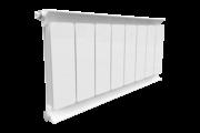 Romantik Classic fehér szinterezett aluminium radiátor 900mm kötéstáv1 tagos