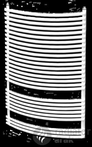 Dunaferr BOSSA RADIUS 800x600mm íves törölközőszárító radiátor
